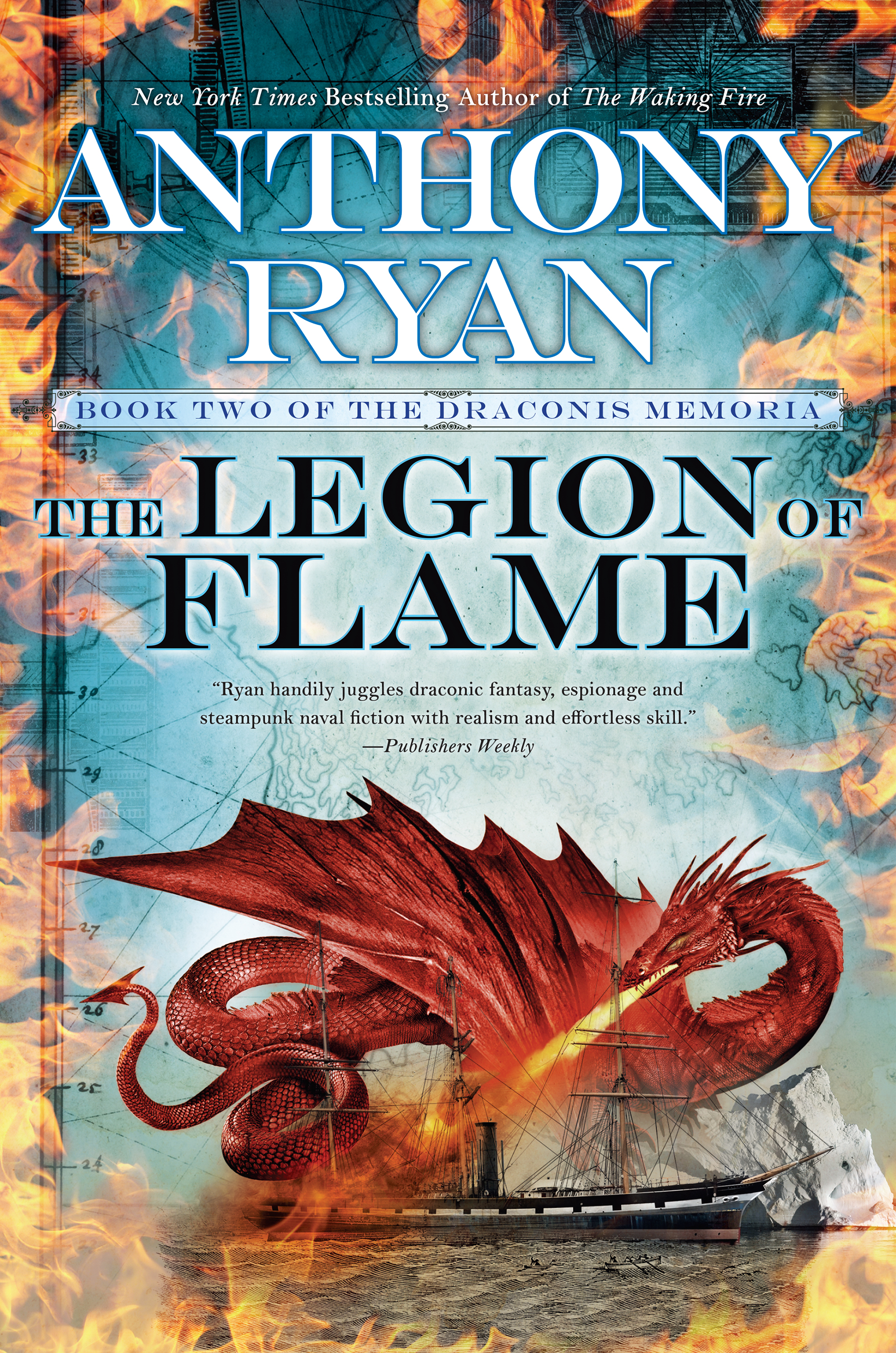 Image result for anthony ryan the legion of flame